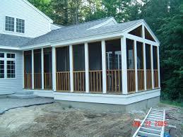 screen porch on deck u2013 home improvement 2017 screen porch