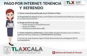 formato para pago de tenencia refrendo ejercicio 2016 secretaría de planeación y finanzas del gobierno del estado de tlaxcala