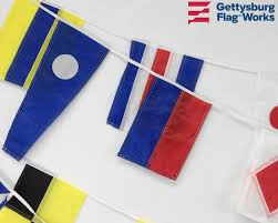 Army Signal Flags Signal Flag String Of 40 Flags Nautical U0026 Marine Ensigns Boating