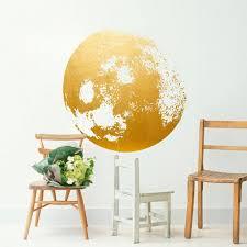 wandgestaltung gold wandkunst aus blattgold bild 2 living at home