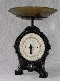 Vintage Kitchen Scales Vintage Wrought Iron Weighing Scales Eks Sweden In Splott