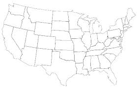 united states map black and white this is what happens when are asked to label europe and