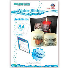 a4 water slide papers decal paper laser transfer papers laser