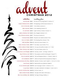 free advent printable with daily activities and a reading plan for