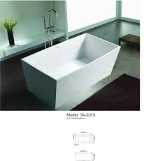Wholesale Bathtubs Suppliers Aliexpress Com Buy Freestanding Square Bathtub Size From