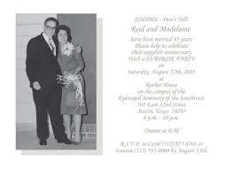45 wedding anniversary sapphire wedding anniversary invitations style by