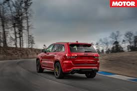 jeep banshee 2018 jeep grand cherokee trackhawk review motor