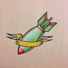 miss atomic bomb tattoo tattoos pinterest tattoos fiestas