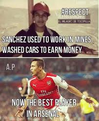 Alexis Meme - alexis sanchez respect fansfoot you ll never laugh alone