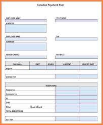 Excel Paystub Template 5 Excel Paystub Template Securitas Paystub