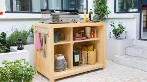 fabriquer cuisine exterieure tuto brico fabriquer un bar pour cuisine d extérieure