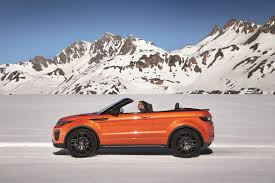 evoque land rover convertible range rover u0027s evoque convertible lets the elements come to you
