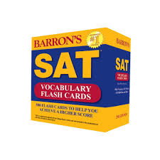 barron u0027s sat vocabulary flash cards 2nd edition 500 flash cards
