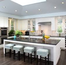 modern kitchen with island modern kitchen island ideas with seating kitchentoday