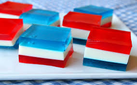 red white and blue finger jell o recipe