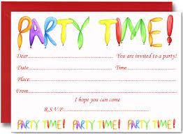 birthday invites charming kids birthday party invitations design
