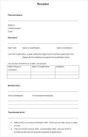 resume blank template iec resume template 2016 blank templates free sles exles