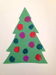 Arts And Crafts Christmas Tree - pom pom christmas tree rose art