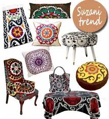 Suzani Fabric Chair Latest Trends In Decorating Suzani Textiles And Bold Decorative