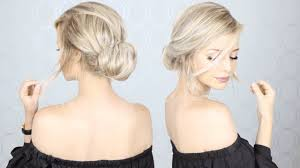 Simple But Elegant Hairstyles For Long Hair by Super Simple Updo Perfect For Long Medium And Short Hair Youtube