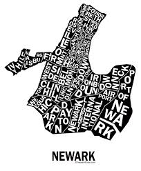 newark map newarkpulse posters newark pulse newark nj