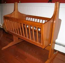 Plans For Baby Crib by Baby Cradle Finewoodworking