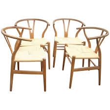 hans wegner ch 24 original set of two o wishbone chair y for carl