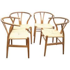 hans wegner ch 24 original set of two o wishbone chair y for carl