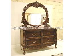chippendale baroque dressing table 6 drawers classic furniture