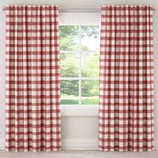 Pink Tartan Curtains Check Plaid Pink Curtains Drapes You Ll Wayfair