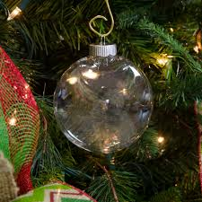 clear oval ball plastic ornament 100mm 2610 66 craftoutlet com