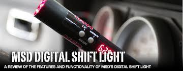 msd programmable digital shift light msd s new distributor less friendly digital shift light dragzine