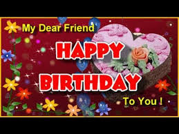 happy birthday to my dear friend and a lovely small gift for u