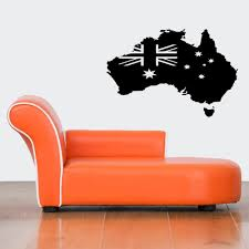compare prices on wall decals australia online shopping buy low wall vinyl sticker decals mural design art australia flag continent earth china
