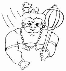 hanuman coloring pages free coloring book 561