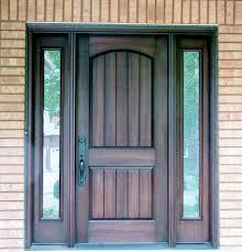 Fiberglass Exterior Doors With Sidelights Fiberglass Exterior Door Home Designs Ideas
