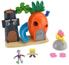 amazon com fisher price imaginext nickelodeon spongebob