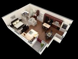 1 Bedroom Flat Interior Design Inspiring Ideas 1 Bedroom Apartments 50 One Apartment House Plans