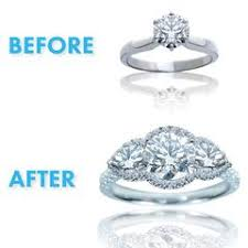 Reset Wedding Ring by Resetting Diamond Engagement Rings