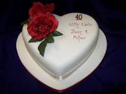 ruby wedding cakes 221 ruby jpg