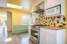 Breakfast Bench Nook Melrose Ave Home Remodel I San Francisco I Modern Craft Construction