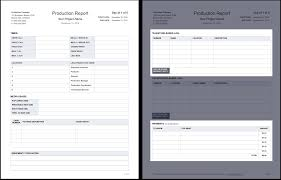 summary report template the daily production report explained with free template daily production report template tear sheet studiobinder