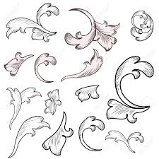 Victorian Design 22 608 Rococo Styles Stock Vector Illustration And Royalty Free