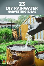 At Home Diys by 23 Awesome Diy Rainwater Harvesting Systems You Can Build At Home