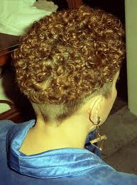 high nape permed haircut permed bowl perms perm and side undercut