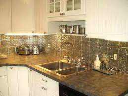 Tin Backsplashes For Kitchens Tin Backsplash Kitchen Brilliant Impressive For Amazing 16