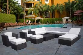Best Outdoor Wicker Patio Furniture Furniture Best Patio Wicker Sofa Set Design Come With Black