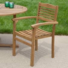 stacking dining room chairs teak outdoor round dining table set with stacking chairs outdoor