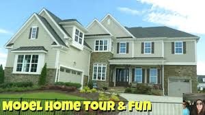 New House by New House Tour U0026 Paul Shows Off In The Model Home