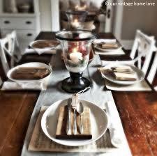 our vintage home love christmas table decor ideas